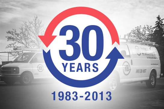 KB Heating & Air Conditioning celebrates 30 years of service!
