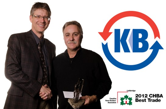 2012 CHBA Lethbridge Awards Best Trade Winner